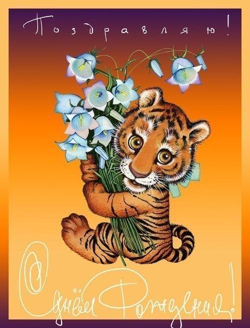 реальных с днем рождения тигр открытки прикольные быт разрушает романтику